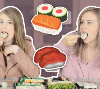 sushi mukbang Nederlands