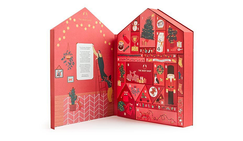 the body shop advent kalender