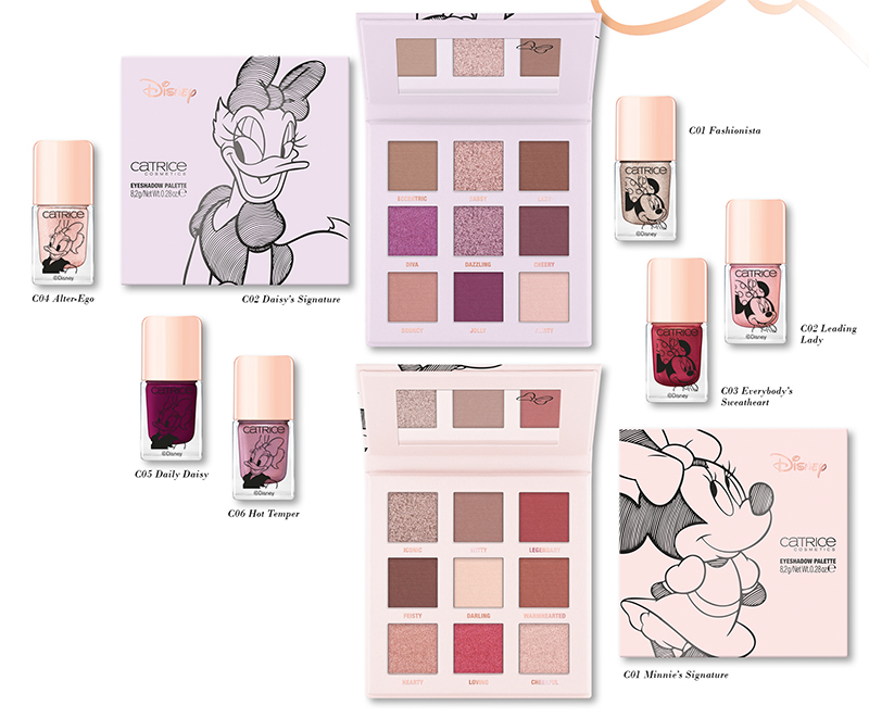 Catrice Minnie & Daisy Limited Edition