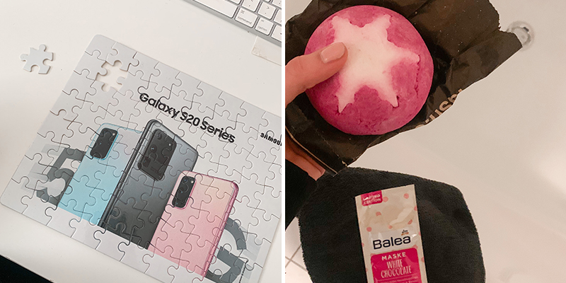 lush bubble bar kerstcollectie