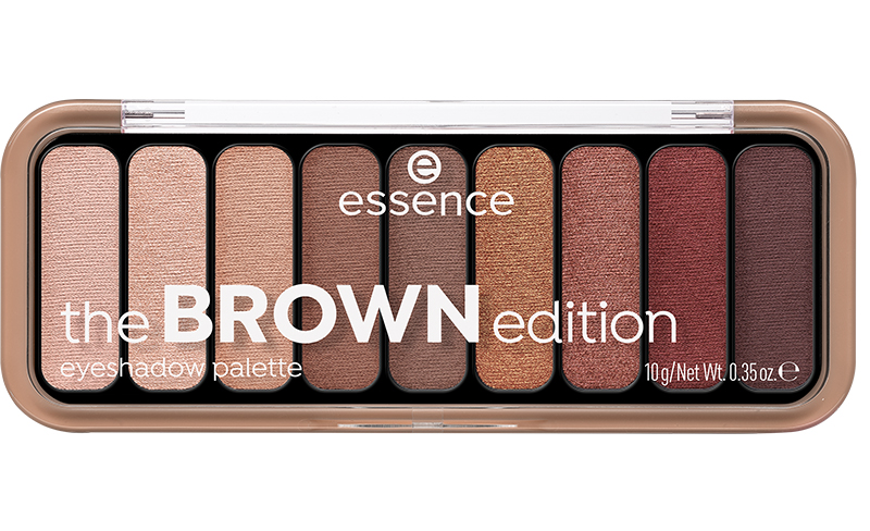 essence brown edition palette