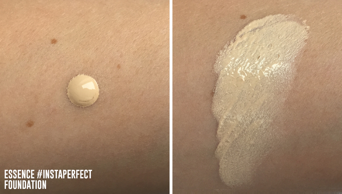 essence instapeffect foundation review