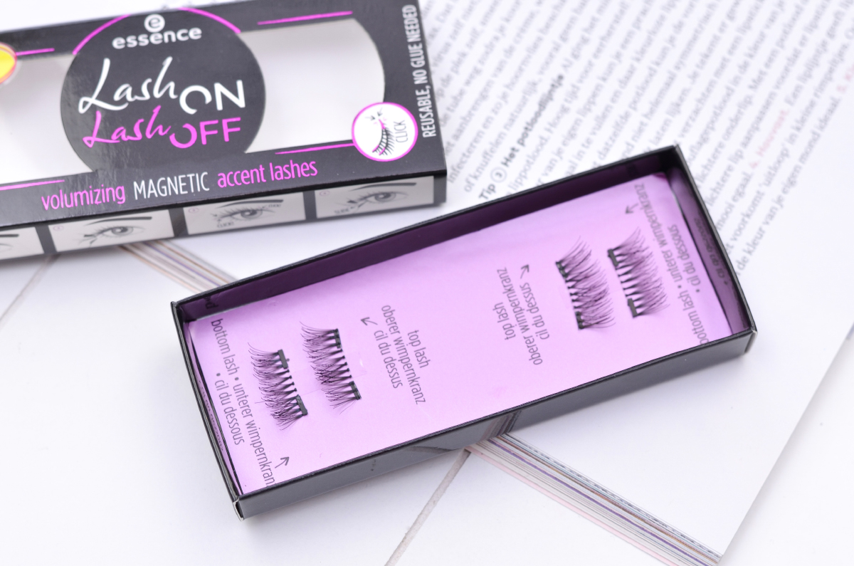 Essence Lash On Lash Off Magnetic Lashes Review