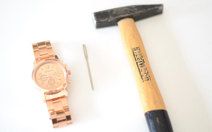 diy horloge kleiner maken