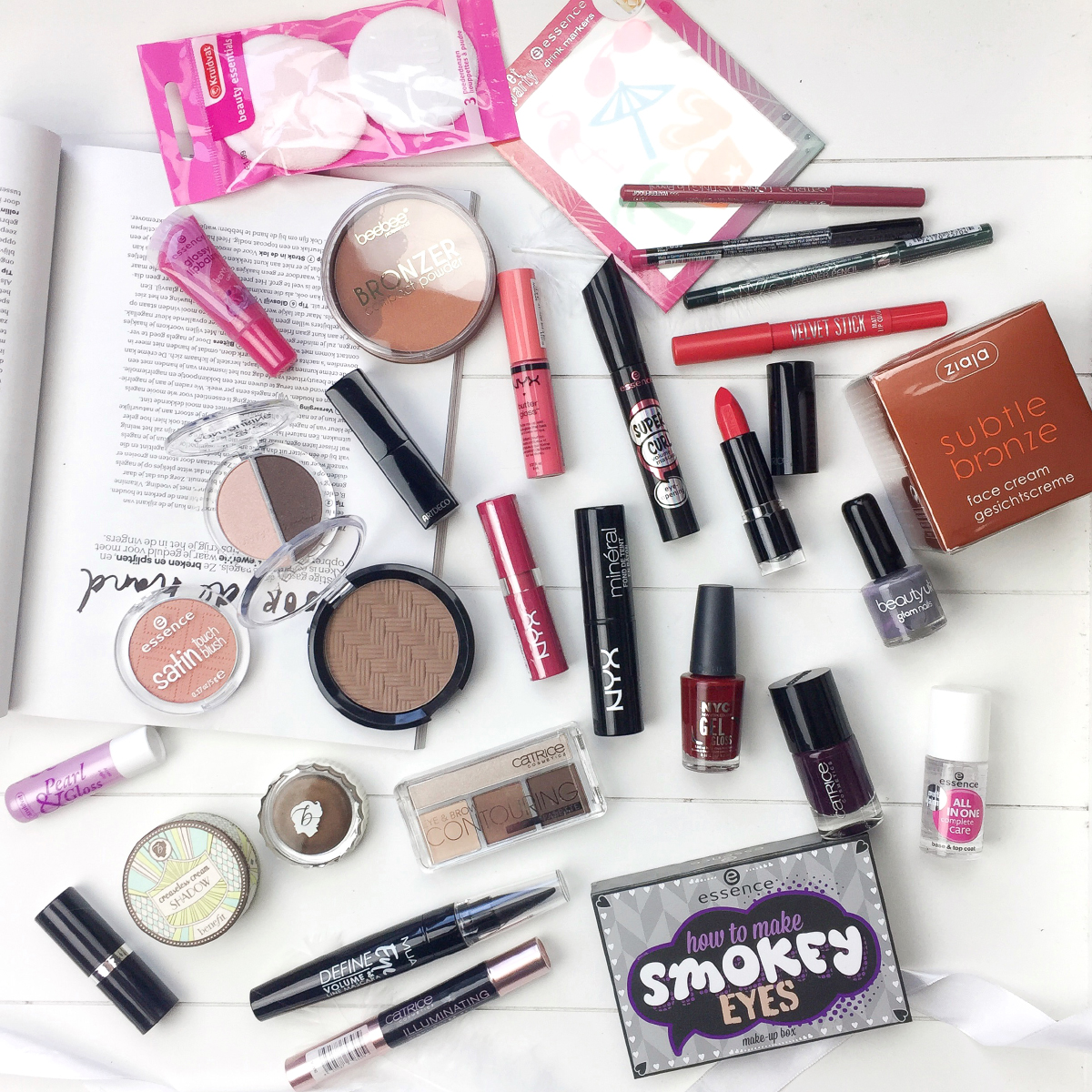 WIN Make-up Pakket youtube winactie